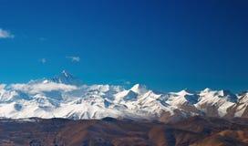 Zet Everest op royalty-vrije stock foto