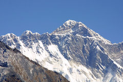 Zet Everest op 8848 M Stock Fotografie