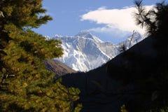 Zet Everest op 8848 M Stock Foto