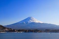 Zet fuji in Japan op stock foto's