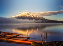 Zet Fuji, Japan op Royalty-vrije Stock Afbeeldingen