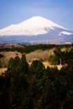 Zet Fuji van Japan op Royalty-vrije Stock Fotografie