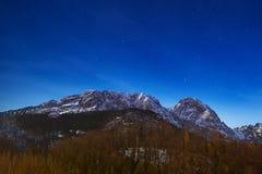 Zet Giewont in Tatra-bergen op Stock Fotografie