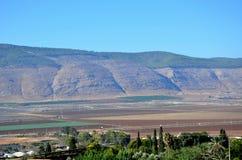 Zet Gilboa Israël op Royalty-vrije Stock Afbeeldingen