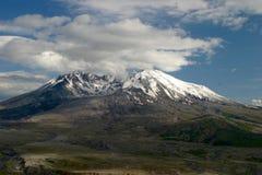Zet Heilige Helens Volcano Washington op Stock Afbeeldingen