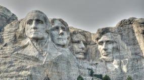 Zet het Nationale Monument van Rushmore op Stock Fotografie
