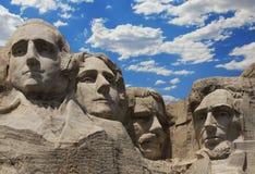 Zet het Nationale Monument van Rushmore op. Zuid-Dakota, de V.S. stock foto's