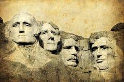 Zet het Nationale Monument van Rushmore, Zuid-Dakota, Verenigde Staten op Royalty-vrije Stock Afbeelding