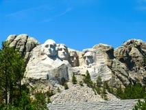 Zet het Nationale Park van Rushmore op Stock Afbeelding