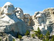 Zet het Nationale Park van Rushmore op Royalty-vrije Stock Fotografie