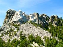 Zet het Nationale Park van Rushmore op Stock Foto's