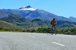 Zet het Streven Nationaal Park op - Nieuw Zeeland stock afbeeldingen