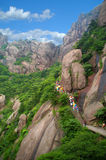 Zet Huangshan, China royalty-vrije stock foto
