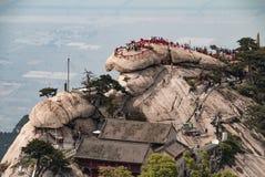 Zet Huashan China op Royalty-vrije Stock Foto