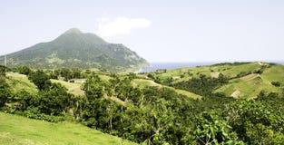 Zet Iraya Volcano Batanes Philippines op Royalty-vrije Stock Foto