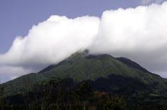 Zet Iraya Volcano Batanes Philippines op Royalty-vrije Stock Afbeelding