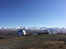 Zet John Observatory op stock foto