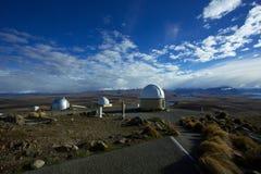 Zet John Observatory In Tekapo op Royalty-vrije Stock Foto's