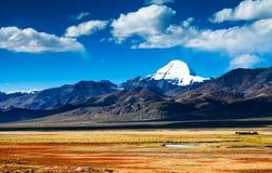 Zet Kailash op Stock Foto