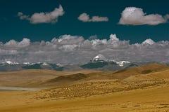 Zet Kang Rinpoche in Tibet op Stock Afbeeldingen