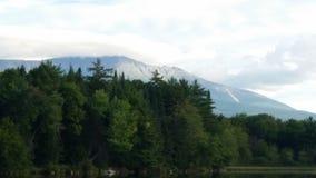 Zet Katahdin in Maine op Royalty-vrije Stock Afbeelding