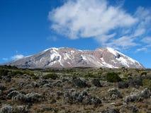 Zet kilimanjaro op Royalty-vrije Stock Fotografie