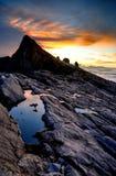 Zet Kinabalu op royalty-vrije stock foto's