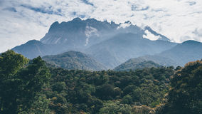 Zet Kinabalu op Stock Afbeeldingen