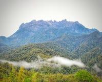 Zet Kinabalu op Royalty-vrije Stock Afbeeldingen