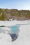 Zet Lassen in het Vulkanische Nationale Park van Lassen op stock afbeelding