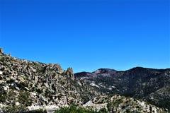 Zet Lemmon, Tucson, Arizona, Verenigde Staten op stock afbeeldingen