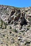 Zet Lemmon, Tucson, Arizona, Verenigde Staten op Stock Foto's