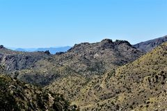 Zet Lemmon, Tucson, Arizona, Verenigde Staten op Royalty-vrije Stock Fotografie