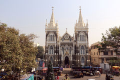 Zet Mary Church, Mumbai op stock foto's