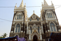 Zet Mary Church, Mumbai op royalty-vrije stock afbeeldingen