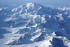 Zet McKinley Alaska op Stock Afbeelding