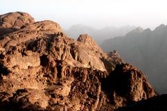 Zet Mozes, Sinai op Royalty-vrije Stock Afbeelding