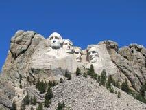 Zet Nationaal Gedenkteken Rushmore op Stock Afbeeldingen