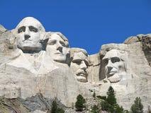 Zet Nationaal Gedenkteken Rushmore op Royalty-vrije Stock Afbeeldingen