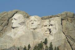 Zet Nationaal Gedenkteken Rushmore op stock foto