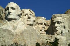 Zet Nationaal Monument Rushmore op Stock Fotografie