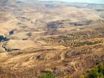 Zet Nebo, Jordanië op Royalty-vrije Stock Foto