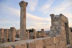 Zet Nebo in Jordanië op Royalty-vrije Stock Foto's