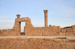 Zet Nebo in Jordanië op Royalty-vrije Stock Fotografie