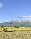Zet Princeton, Colorado 14er in Rocky Mountains op Stock Afbeelding