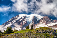 Zet Regenachtiger op een mooie zonnige dag op, WA stock afbeelding