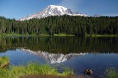 Zet Regenachtiger, Washington, de V.S. op royalty-vrije stock foto