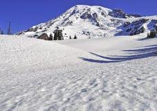 Zet Regenachtiger, Washington, de V.S. op stock fotografie
