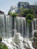 Zet Replica van de Daling op Rushmore de HerdenkingsNiagara Stock Afbeeldingen