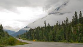 Zet Robson Provincial Park op Stock Afbeeldingen